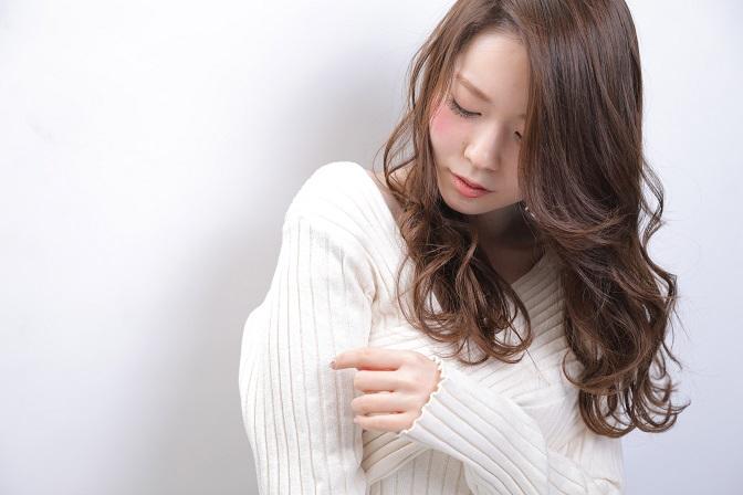 モテ髪ロング